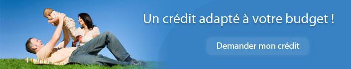 Un crédit adapté à vos besoins